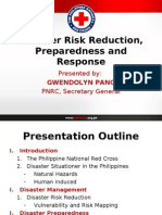 Disaster Risk Reduction, Preparedness and Response