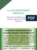 Prezentare Natura 2000 Muntii Macinului