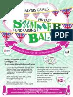 Summer Ball Poster
