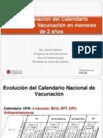 Vacunación en Prematuros Maternidad Provincial