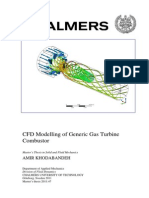 CFD Modelling of Generic Gas Turbine Combustor