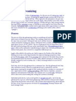 Description of Galvanizing Process