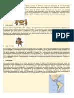 Los Pueblos Precolombinos