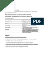 Accounting Notes