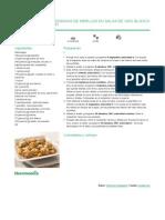 Recetario Thermomix® - Vorwerk España - Albóndigas de merluza en salsa de vino blanco - 2012-03-16