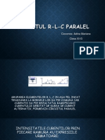 Circuitul R L C Paralel in curent alternativ