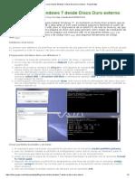 Como instalar Windows 7 desde Disco Duro externo - Proyecto Byte.pdf
