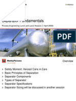 Separator Fundamentals - Process Design