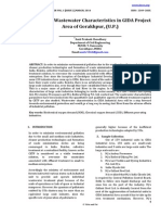 Industrial Wastewater Characteristics in GIDA Project Area of Gorakhpur, (U.P.)