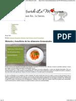 Historia y Beneficios de Los Alimentos Fermentados _ Eva Muerde La Manzana