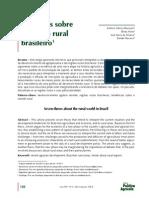 Sete Teses Sobre o Mundo Rural Brasileiro