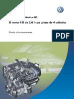 322_VW_El Motor FSI de 2,0L Con Culata de 4 Válvulas