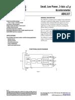ADXL327 Data Sheet