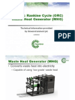 Capstone Micro Turbine & ORC