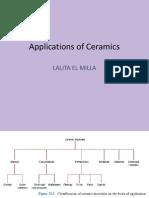 Applications of ceramics