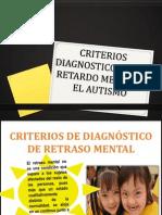 Criterios Diagnosticos en El Retardo Mental y El