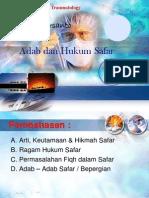 Adab Safar Blok Tarumatologi