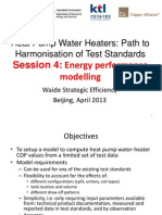 APEC Heat Pump Water Heater ProjectApr2013 Beijing WorkshopModeling Simulation Overview