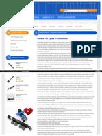 La laser de Types et utilisations