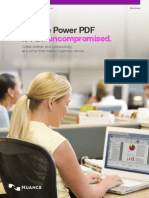 Nuance Power PDF Standard Brochure