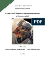 Atestat Tattoo M. Paula