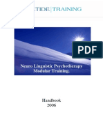 Neuro Linguistic Psychotherapy Modular Training Modules