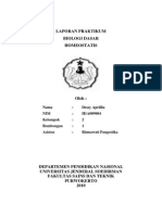 laporan homeostatis biologi