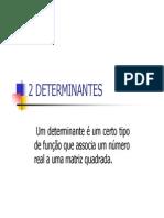 2 Determinantes