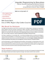 Neuro-Linguistic Programming for Executives