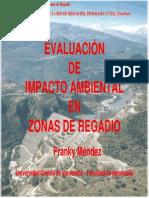 7 Impacto Ambiental en Zonas de Regadio