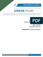 Business Plan Template (2)