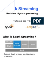 Spark Summit 2013 Spark Streaming  Real Time big data processing