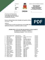 Ordin de Inmatriculare a Medicilor Si Farmacistilor Inregistrati La Cursurile de Perfectionare Pentru Luna Februarie 20141