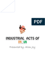 Industrial Acts of India