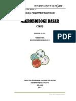 Buku Panduan Praktikum Mikrobiologi Dasar Thp