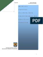 Manual Politici Publice