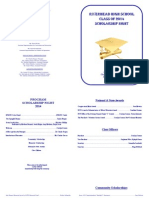 2014 Scholarship NIght Program