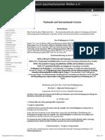 Strahlenfolter Stalking - TI - Nationale Und Internationale Gesetze - Psychophysischer-terror.com