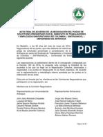 Acta Final Negociacion Sintraunicol
