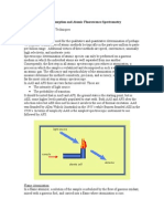 Atomic Absorption and Atomic Fluorescence Spectroscopy