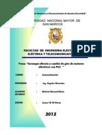 INFORME V-AUTOMATIZACION-ARRANQUE DIRECTO Y GIRO MOTORES-PLC-ultimo.doc