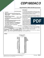 Cdp 1802 Data Sheet 2