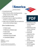 depository instution flyer