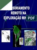 Sensoriamento Remoto Na Exploração Mineral