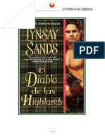 Sands, Lynsay - Highlander 01 - El Diablo de Las Highlands