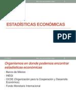 ESTADISTICAS ECONOMICAS