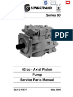 Series 90 42 cc Pump Service Parts