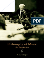 eBook Philosophy of Music