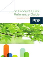 Cisco Product Quick Reference Guide