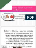 Organizacion y Tecnica 2014 Taller 1
